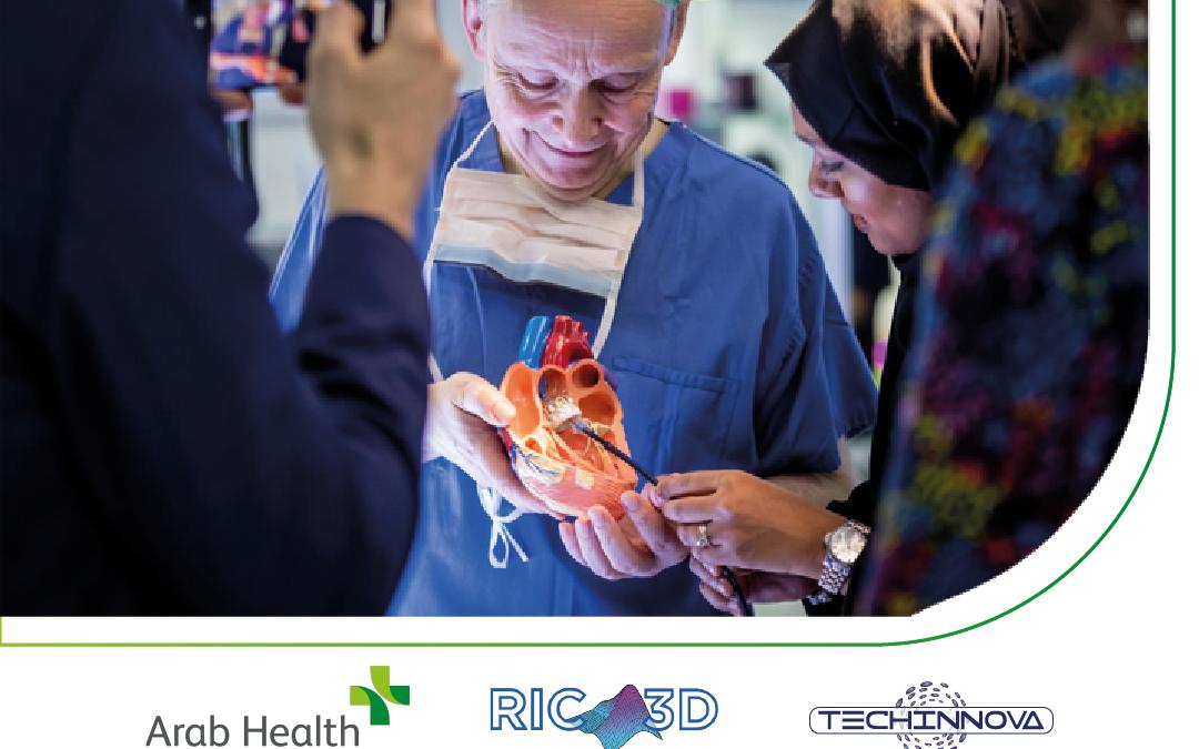 Emirati Arabi: Techinnova e RIC3D all'Arab Health 2021 di Dubai.